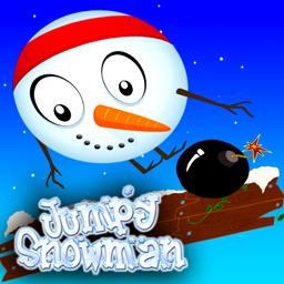 Jumpy Snowman